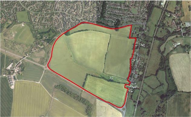 Whittington Way – Aerial Photograph