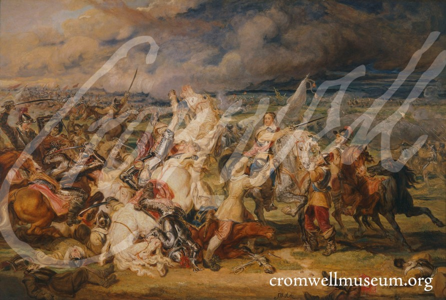 The battle near Boston